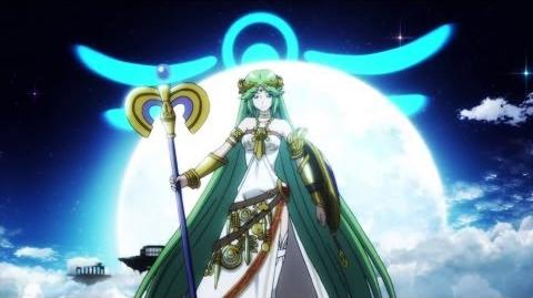 Super Smash Bros. 4 - Palutena Trailer
