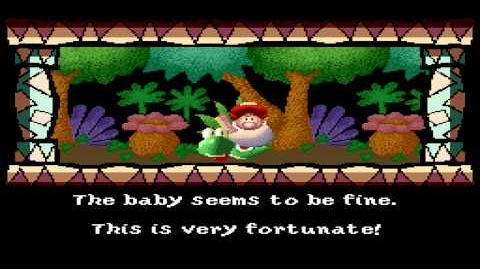 Super Mario World 2 Yoshi's Island - Intro