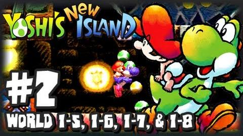 Yoshi's New Island 3DS - (1080p) - Part 2 - World 1 (2 2)