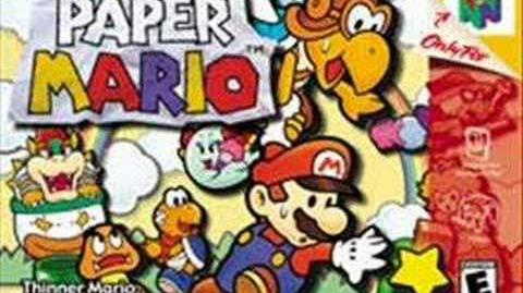 Paper Mario Nice to Meet You