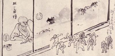 檔案:與謝蕪村『蕪村妖怪繪卷』中的赤子之怪.jpg