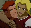 Artemis and Kid Flash