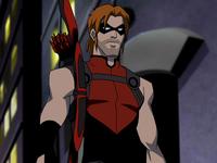 Shabby Red Arrow
