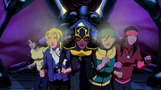 Bumblebee leads the abductees