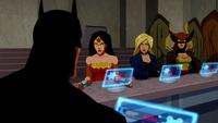 Wonder Woman is angry at Batman