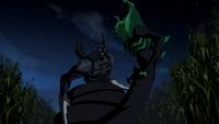 Green Beetle versus Black Beetle