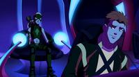Wally reassures Artemis