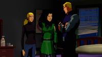 Artemis's family has a talk