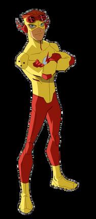 Kid Flash model