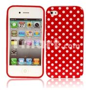 Little-White-Dots-Design-Silicone-Case-for-iPhone-4-Red 320x320