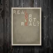 Real or not real 1 copy