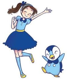 Anna and Piplup