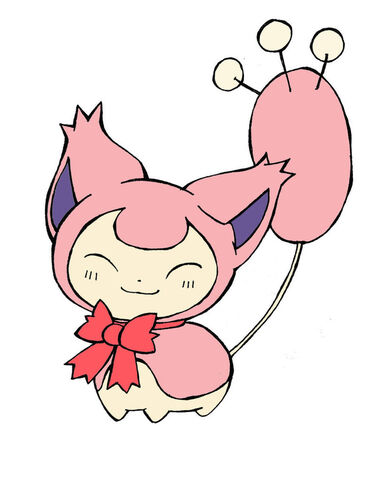 File:Skitty with a bow by popomo-d64hu2t.jpg