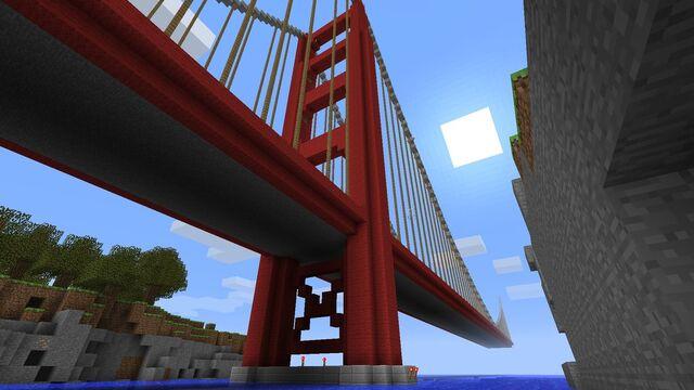 File:Golden gate bridge minecraft by schattenw0lf-d3byz6n.jpg