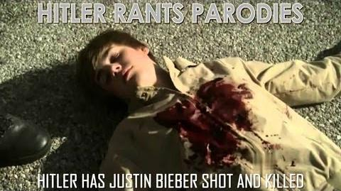 Hitler has Justin Bieber shot and killed