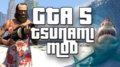GTA 5 - Tsunami Mod, The Pretty Mermaid