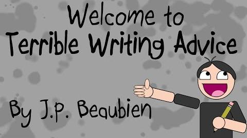 Welcome To Terrible Writing Advice