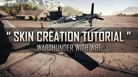 """ How to make User Skins! "" - War Thunder Custom Skin Tutorial"