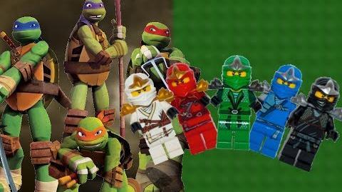 Teenage Mutant Ninja Turtles vs Ninjago