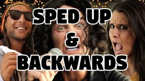 Bart Baker MAGIC!- Rude Parody Sped Up & Backwards