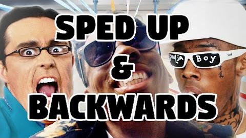 Bart Baker Silento- Watch Me (Whip Nae Nae) Parody Sped Up & Backwards