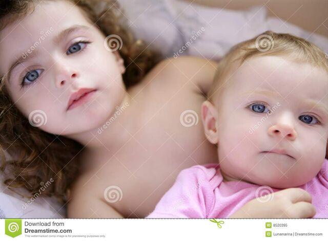 File:Duas-irms-bonitas-pequenas-da-criana-8520395.jpg