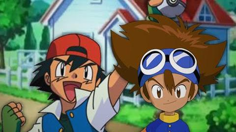 Ash Ketchum vs Taichi Kamiya. Epic Rap Battles of Cartoons Season 3
