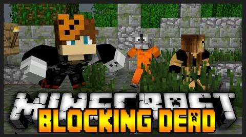 "Minecraft The Blocking Dead W Kricken & SteelXSaint ""RUN SYDNEY!"""