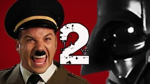 Hitler vs Vader 2. Epic Rap Battles of History Season 2