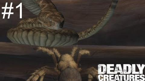 Let's Play Deadly Creatures Part 01 Spider Panic