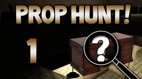 Prop Hunt! w Gassy, Nanners, Diction, & Goldy 1