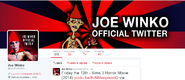 Twitter Screen Shot Joe Winko