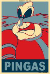 Vote Robotnik for Pingas by Zeta Neubourn