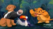 (YTP)Simba and Nala go to White Castle