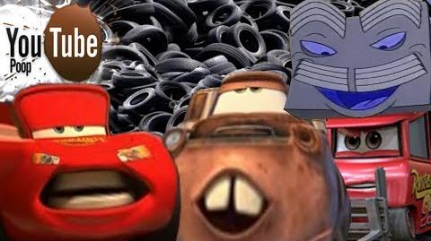 YouTube Poop Lightning McQueer and the Quest for Tires
