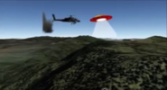 Helicopter VS. UFO