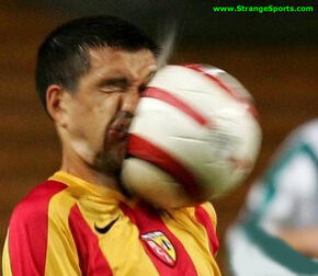Soccerball-in-face