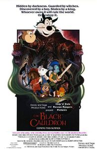 The Black Cauldron (Disney and Sega Animal Style) Poster