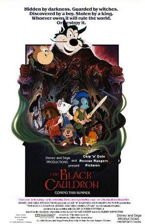 The Black Cauldron (Disney and Sega Animal Style) Poster