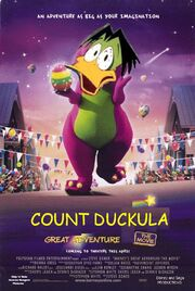 Count Duckula's Great Adventure The Movie Poster