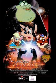 Revenge of the Sith (Disney and Sega Style) Poster