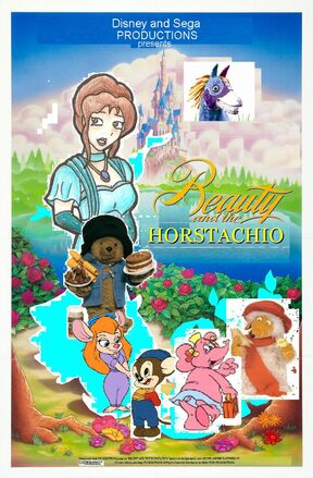 Beauty and the Horstachio Poster