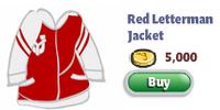 Red Letterman Jacket
