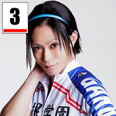 <center>Tamaki Yuki as Toudou Jinpachi.</center>
