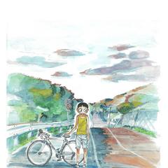 Midousuji as a child.