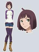 Toka Kishi appearance