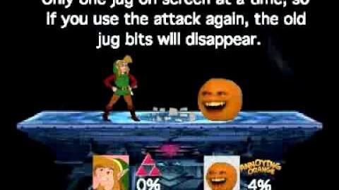 Smash Bros Lawl Moveset-CD-I Link