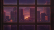 Ep006 Den City's view from Aoi's room