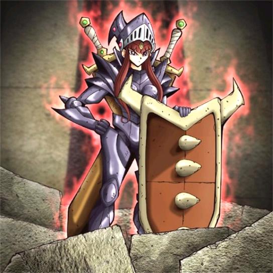 defense maiden  yugioh  fandom poweredwikia