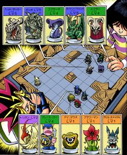 Dark Yugi VS Mokuba I lineups
